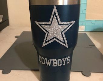 NFL Tumblers/ Dallas Cowboys cup 30oz