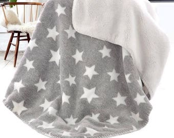 Fleece Star Blanket (2 colors)