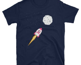 Litecoin To The Moon Crypto Funny T-Shirt
