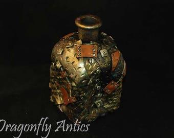 Wonky steampunk bottle