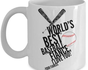 WORLD'S BEST Baseball Fiance! Coffee Mug