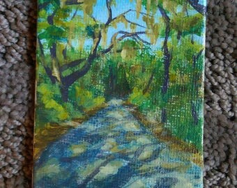Miniature painting, The Path