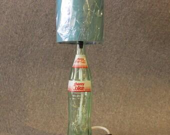Old 16 FL Oz. 1985 Cherry Coke Bottle Lamp