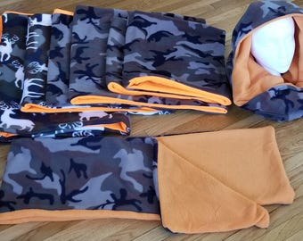 Fleece Scarf/Neck Warmers - Hunting/Camouflage Collection