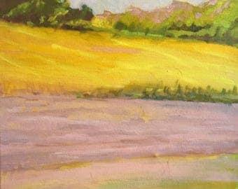 original oil landscape painting