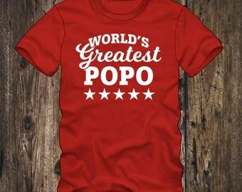 World's Greatest POPO T-shirt