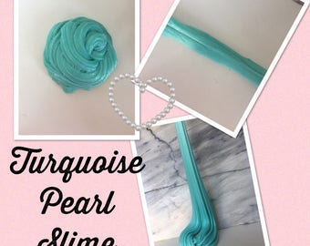 Turquoise Pearl Slime