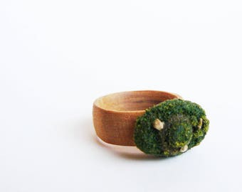 Tiered Maple Ring