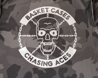 Basket Cases Chasing Aces Disc Golf Performance Tee Shirt