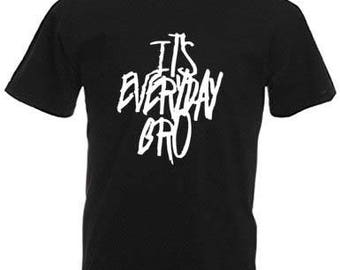 Jake Paul Its Everyday Bro Original Youth tshirt. 100% COTTON. Jake Paul Team 10 Merch