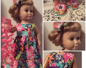 Chatty Cathy doll dress and sandals