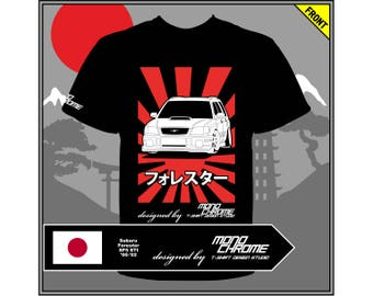 T-shirt Subaru Forester SF5 STI '00-'02
