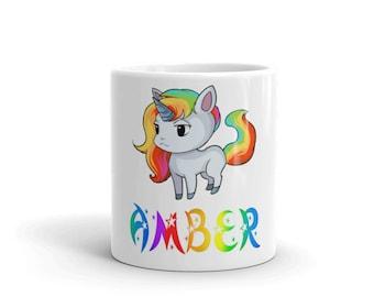Amber Unicorn Mug