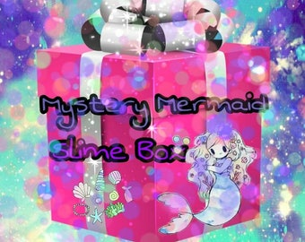 Mystery Mearmaid Slime Box