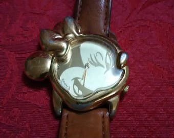 Vintage Minnie Mouse face watch by Laurus