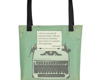 bell hooks quote Feminist Tote bag