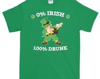 Dabbing Leprechaun,  0% Irish 100 Drunk Leprechaun Dabbing Beer Stein, 0 Irish Drunk, St Patricks Day, Irish Pub Party, St Paddy's Day, Shor