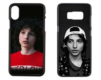 Stranger Things Iphone x Case, Stranger Things Phone Case, Finn Wolfhard Cace, iPhone 7 Case, iPhone 8 Plus Case, Samsung Galaxy S8 Case