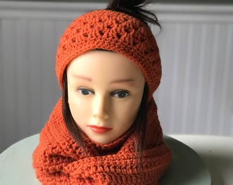 Ear warmer and scarf set