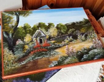 Landscape Acrylic Painting  30/40 cm
