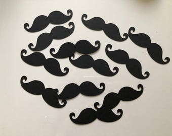 "Cardstock Mustache 4"" Party Favors"