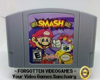 super smash bros - N64 Nintendo 64
