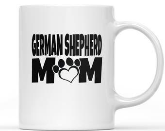 German Shepherd Mug, Mugs For Dog Lovers, Personalized Mug Dog, Gift For Dog Lover, Mug Dog, Coffee Mugs Dogs, Gifts For Dog Lovers, GSD