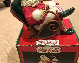 Coca-Cola Santa Tablepeice
