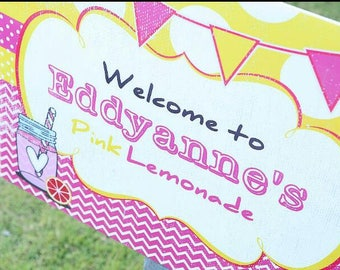 Welcome to Pink Lemonade Party