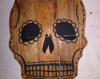 SKULLAVERA Wood Plank