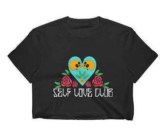 Self love club // Crop Top