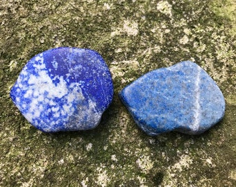2 Natural Lapis Lazuli Stones Specimens