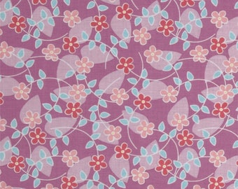 MM Peony Floating Blossoms, DC6188-PEON-D , Michael Miller Fabric