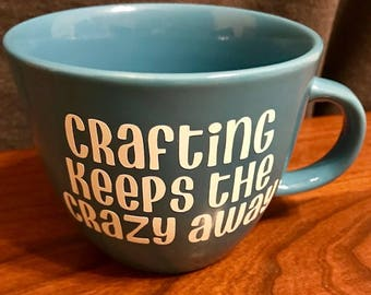 Crafting coffee mug