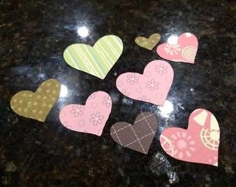 Mini Heart Cutouts/Valentines