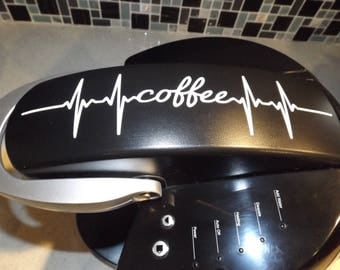 Coffee Maker Decals
