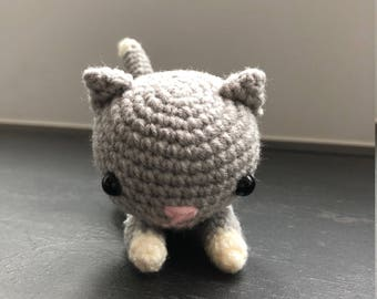 Amigurumi - Crochet animal, Amigurumi toy, Amigurumi doll, Crochet cat, Amigurumi cat, Knitted cat