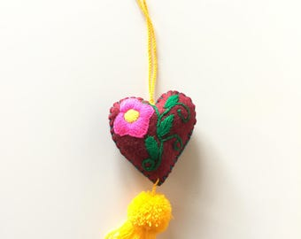 Medium handmade Mexican Heart