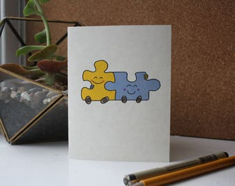 Missing Piece Card