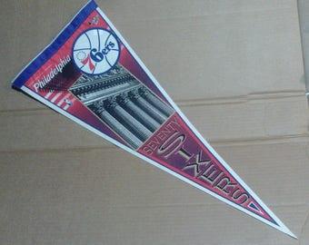 Philadelphia 76ers Pennant - Full Size