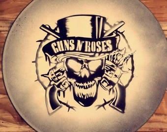 Vinyl art - Guns and Roses