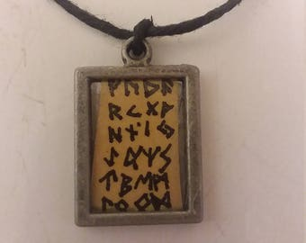 Elder Futhark Necklace