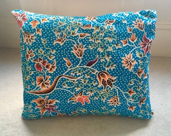 Floral, retro cushion made to order