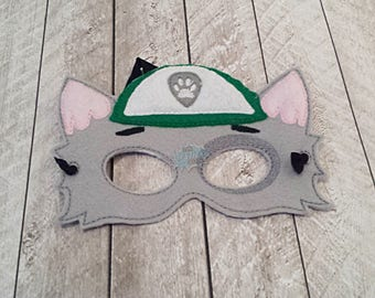 Recycling Dog Paw Masks Puppy, Hero, Working Dog, Patrol, Inspired Mask, Pretend Play, Imagination