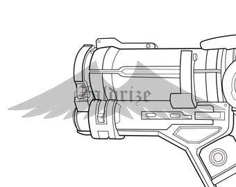Mei - Gun - Blueprint