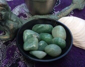 Natural Green Aventurine Tumbled Crystals