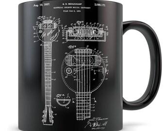 Electric Guitar Gift, electric guitar mug, guitar gift for men and women, guitar gift idea, electric guitar, guitar teacher gifts