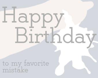 Happy Birthday Mistake Funny