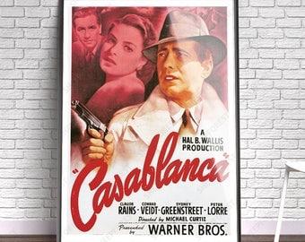 Casablanca - Film, Movie, Poster