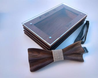 Raleigh Handmade Wooden Bowtie